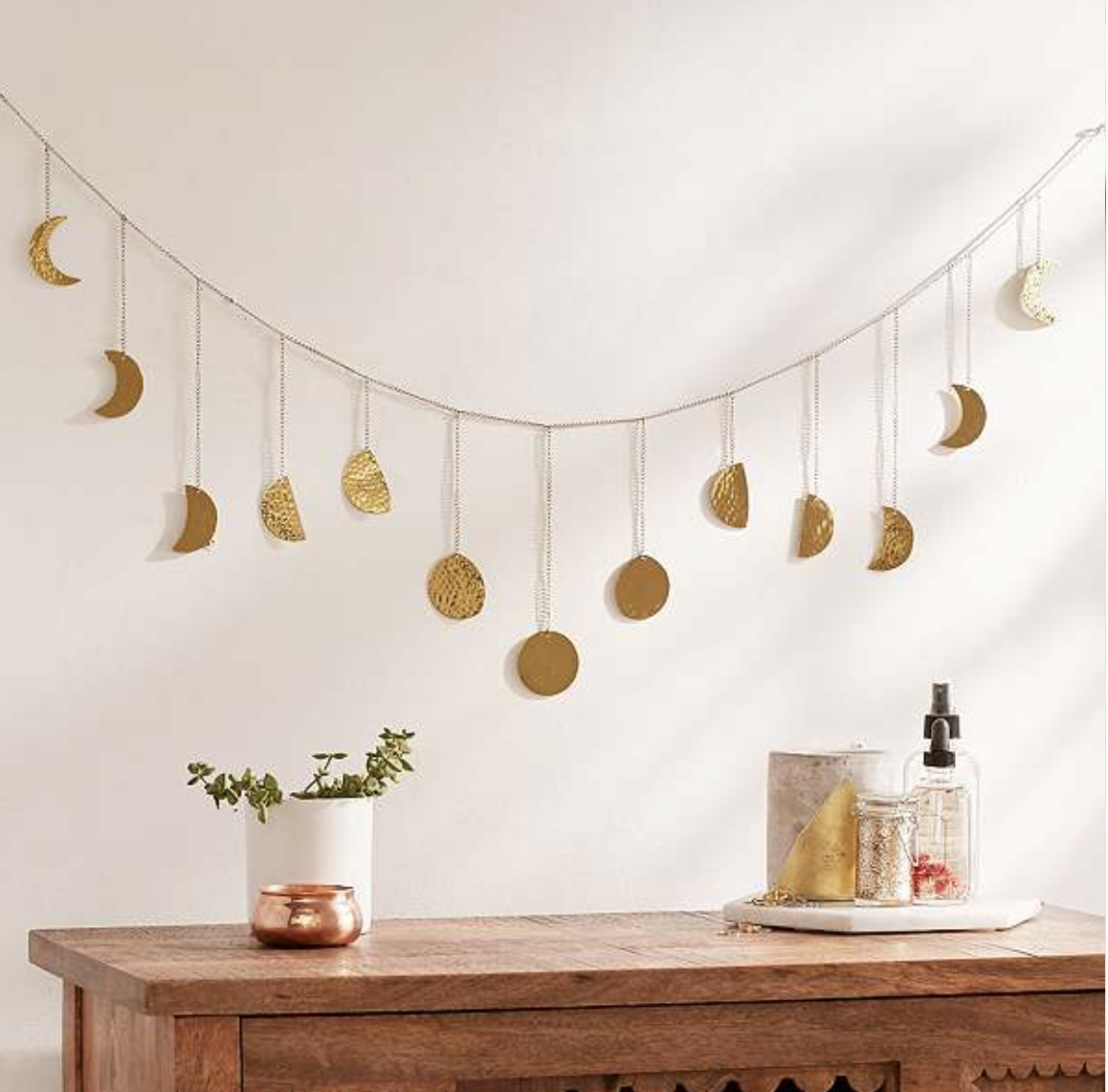 Wall Sconces Urban Outfitters: DIY Idea - Moon Bunting