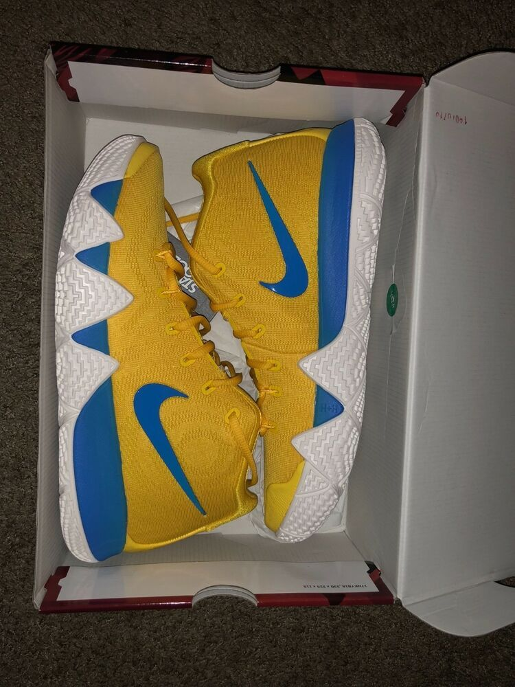 buy online 80af5 a1f35 BRAND NEW Kyrie 4 Cereal Pack Kix Amarillo Yellow White Multi-Color BV0425- 700