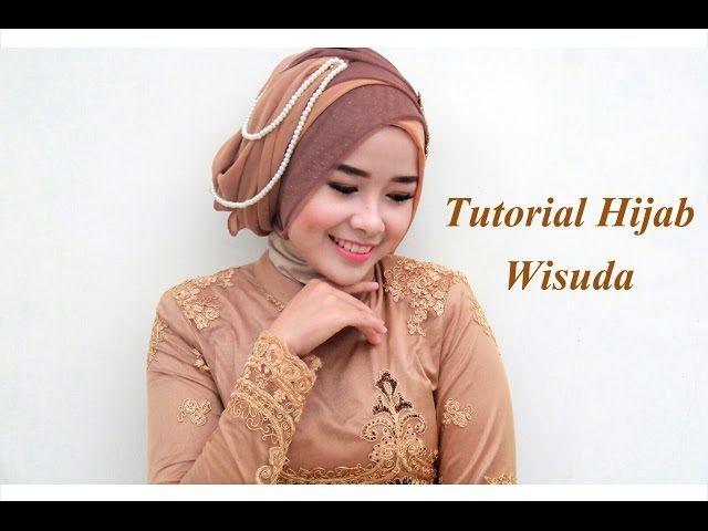 Tutorial Hijab Untuk Wisuda Memakai Toga Wisuda Model Wajah