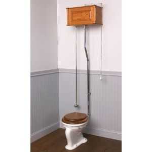 Victorian Reproduction High Tank Toilet 1600 00 From Mac The