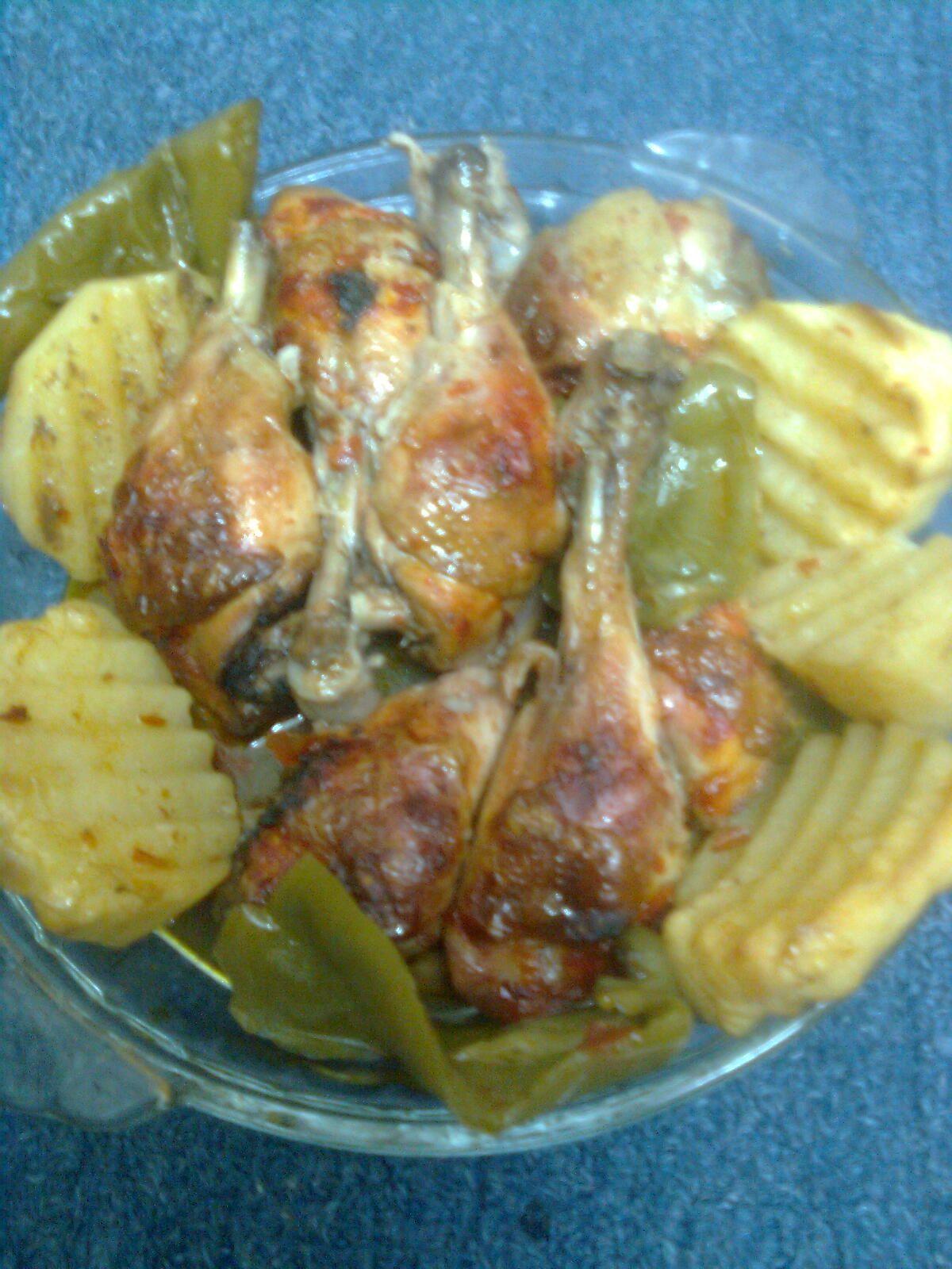صينية دجاج بالفرن Recipes One Pan Meals Pan Recipes