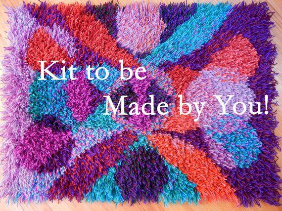 Rya Rug Kit For You To Make Virgin