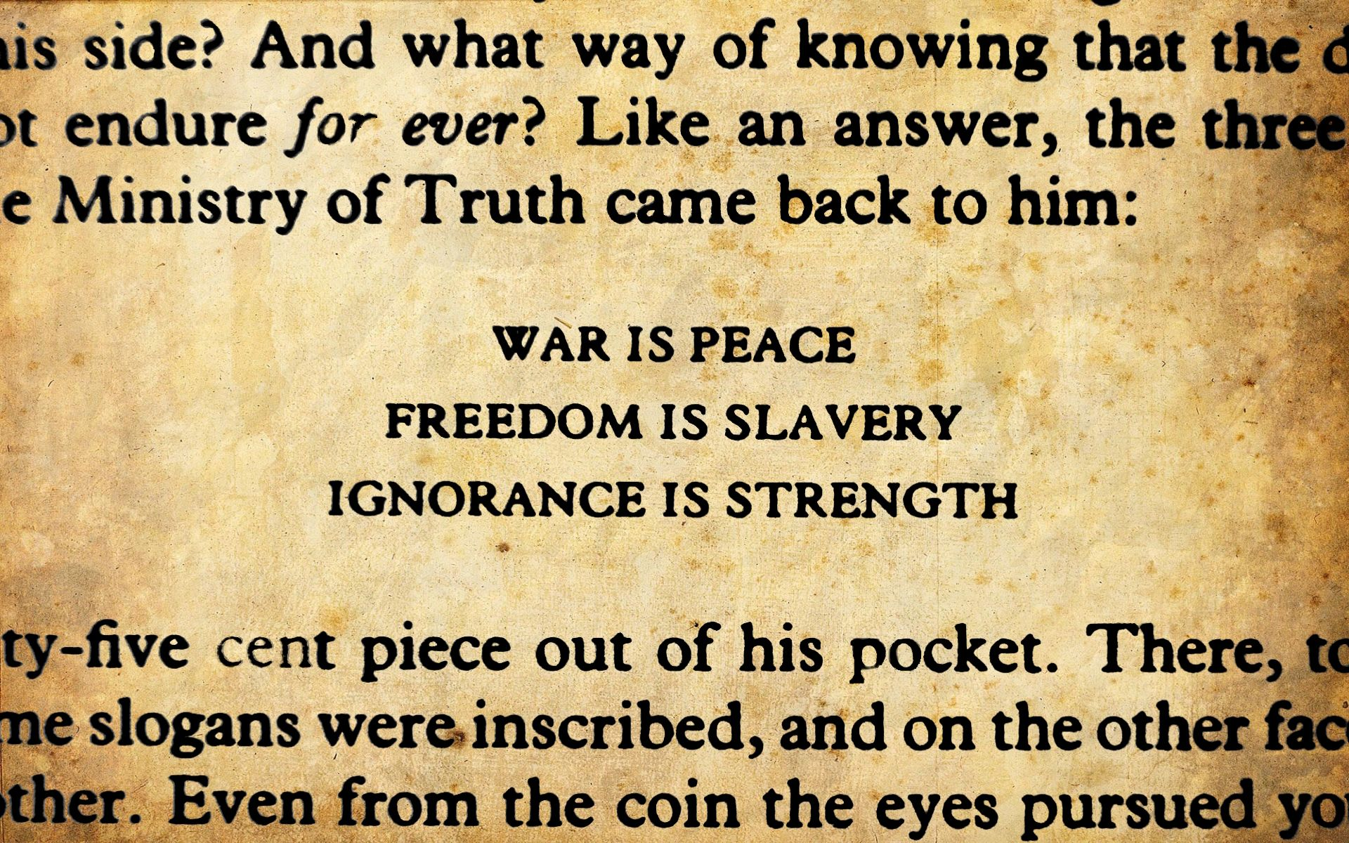 George Orwell 1984 Quotes A Quote From 1984George Orwell  Books Worth Reading