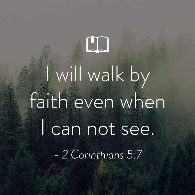 Bible Quote: Bible Verse For Women About Walking By Faith