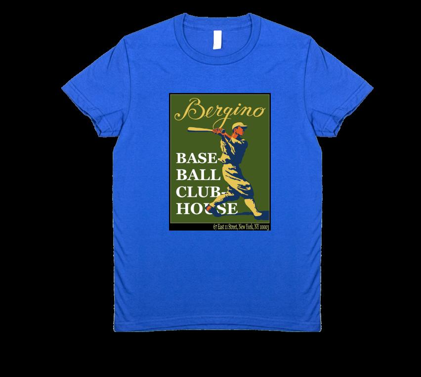 Bergino Baseball Clubhouse Women's T-Shirt
