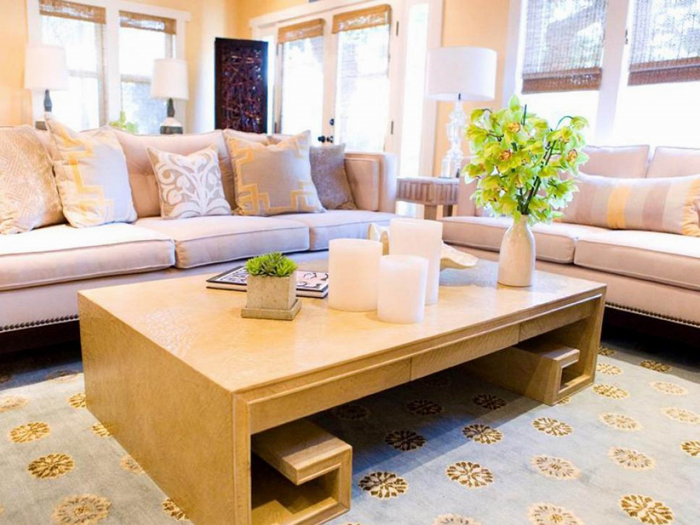 Interior Design Large Living Room Greek Key Coffee Table Lavender Sofa Living Room Decor Decor