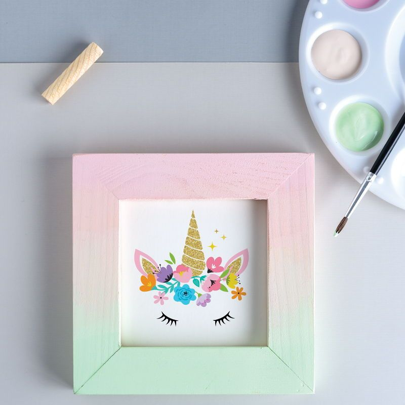 Ombre Wooden Frame Frame Diy Wood Projects Make Your Own