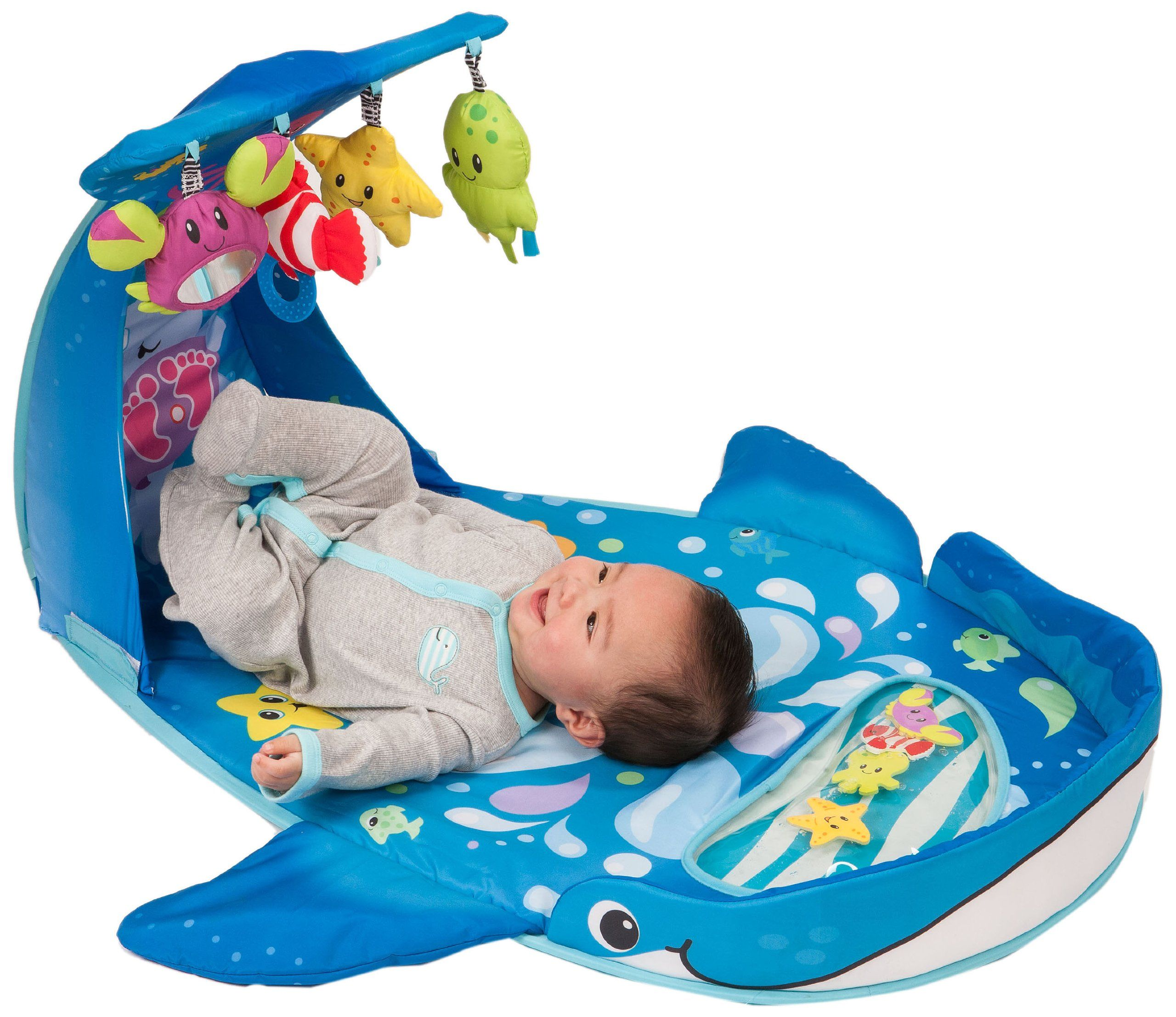 Amazon Infantino Wonder Whale Kicks and Giggles Gym Early