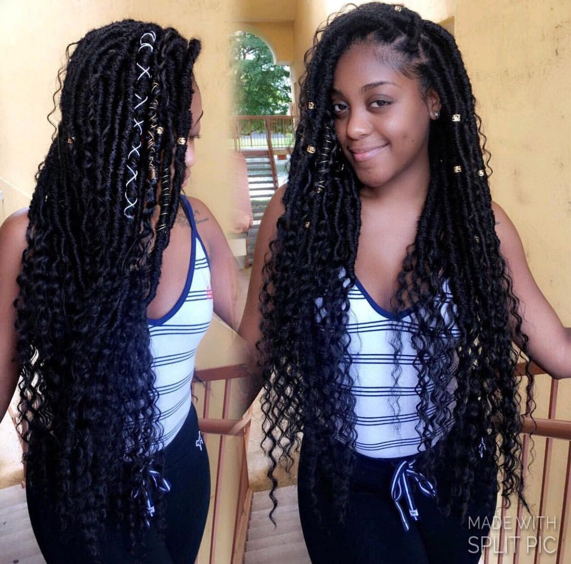 23 Ways to Pull Off Goddess Faux Locs