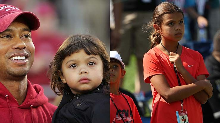 1. Sam Alexis Woods Age: 10 The daughter of Tiger Woods ...