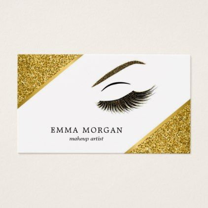 Makeup artist business card with glitter effect makeup artist makeup artist business card with glitter effect makeup artist gifts style stylish unique custom stylist reheart Choice Image