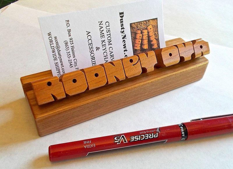 Cherry wood desk name business card holder business card holders cherry wood desk name business card holder colourmoves