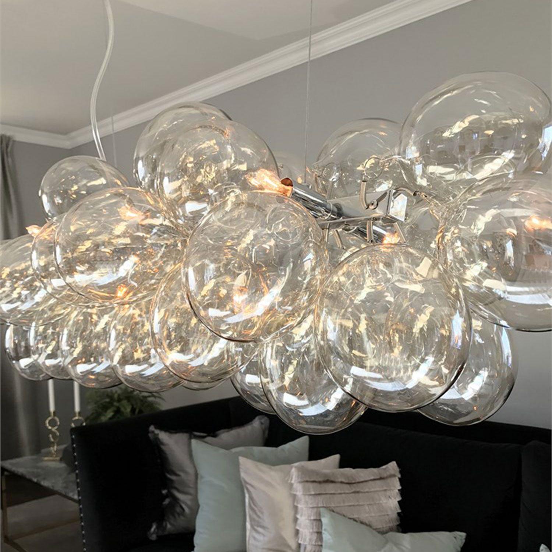 Gross Bar Loftslampe 80cm, Amber By Rydéns By Rydéns