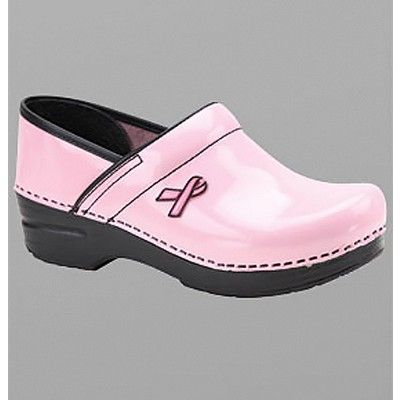 "Dansko ""Professional"" BCA Ribbon Edition Patent Leather Clog from http://shop.advanceweb.com."