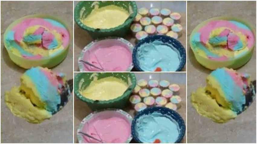 Resep Es Krim Ice Cream Jual Rp 1000 Untung Melimpah Resep Es Krim Es Krim Cake Es Krim