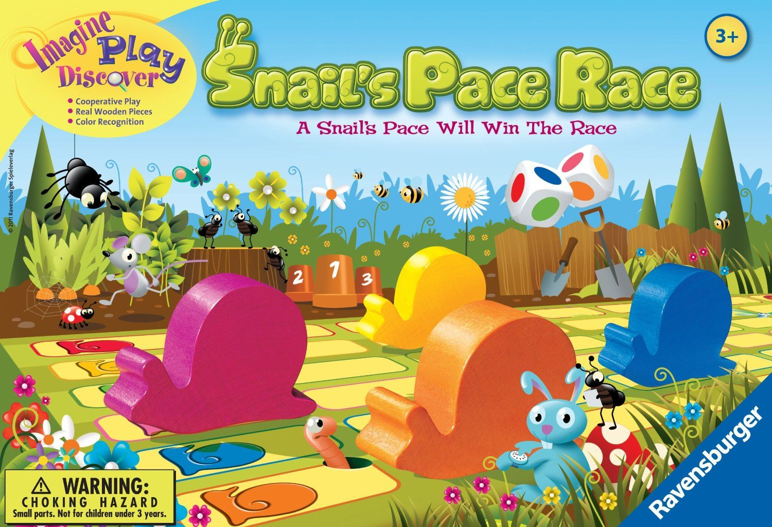 Snail's Pace Race Games for kids, Cooperative games