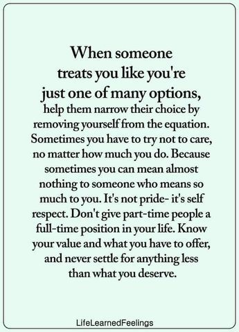 You to walk away sometimes have Sometimes you