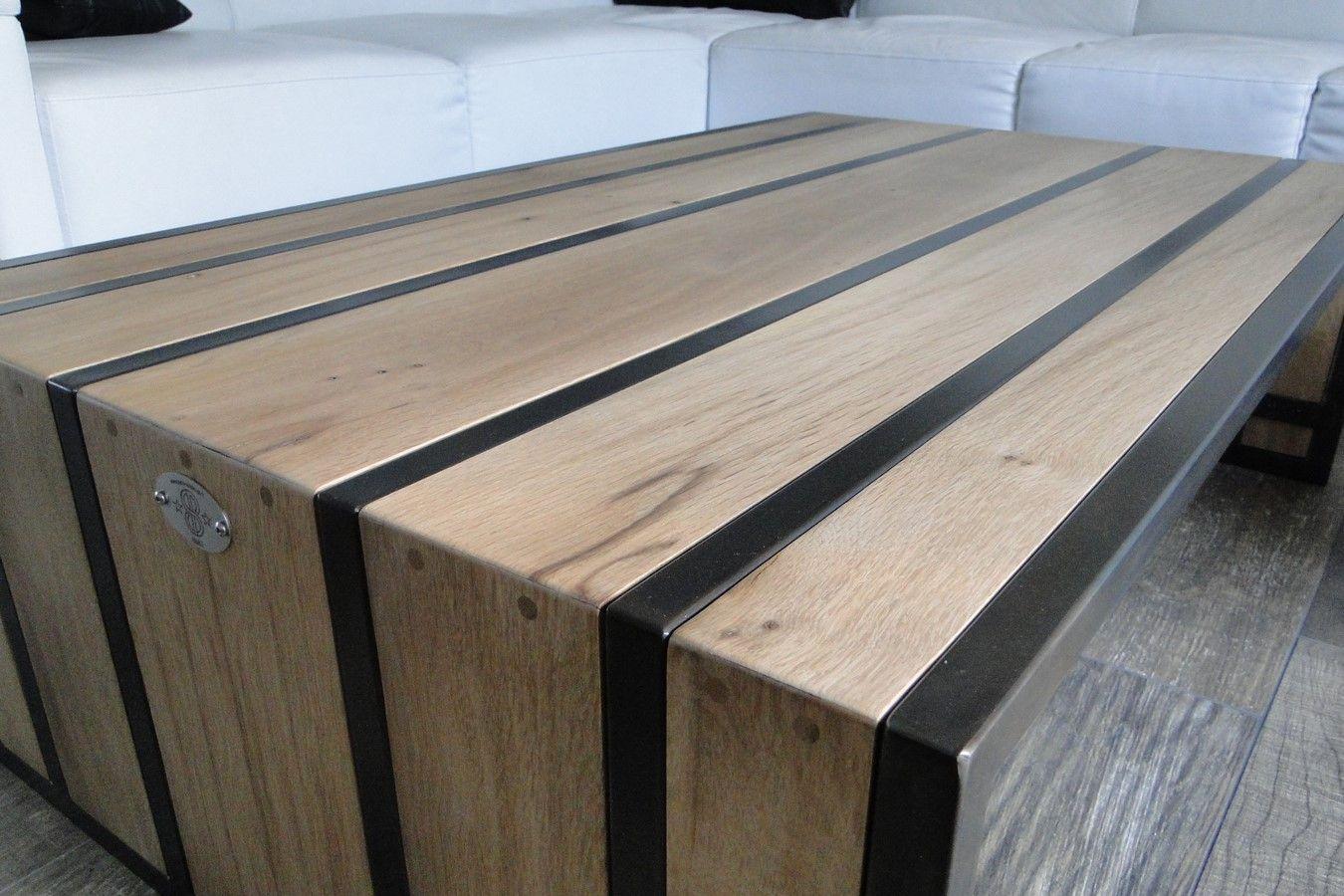 conception et fabrication de mobilier contemporain acier bois metal cr ateur artisanal table. Black Bedroom Furniture Sets. Home Design Ideas