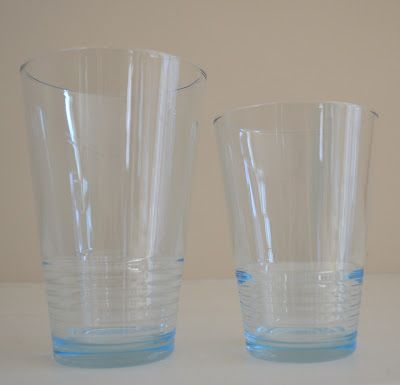 9e45df184f0 Aqua Blue drinking Glasses from IKEA | For the Home | Shabby chic ...