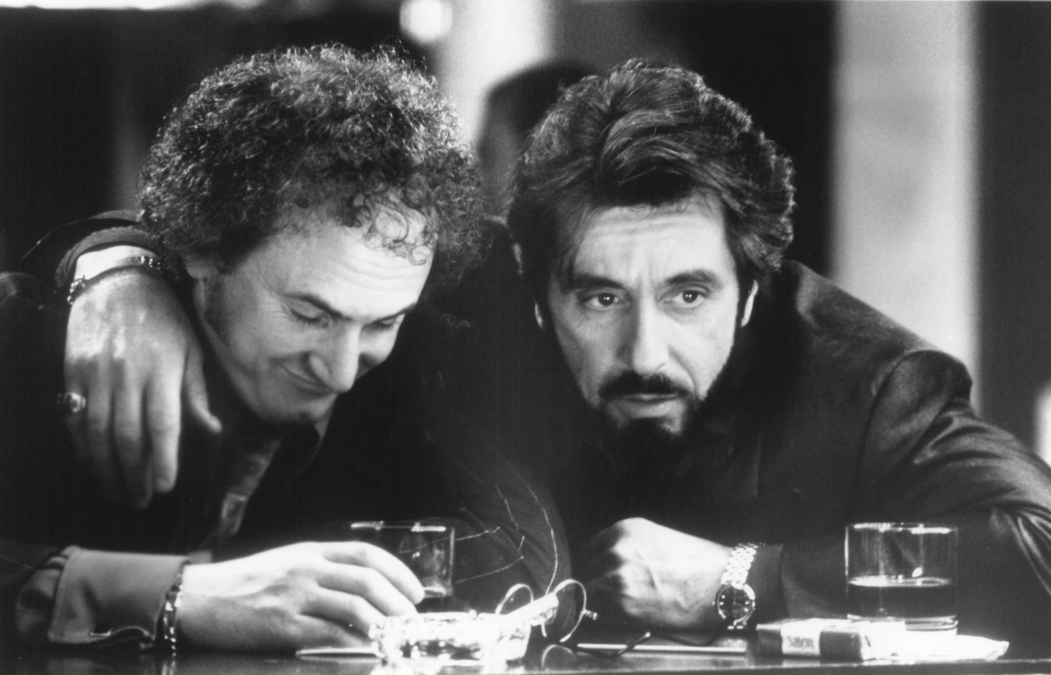 Sean Penn And Al Pacino In Carlitos Way Directed By