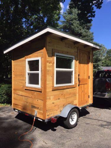 Micro House Tiny House Artist Studio On Wheels Tiny House Camper Micro House He Shed She Shed