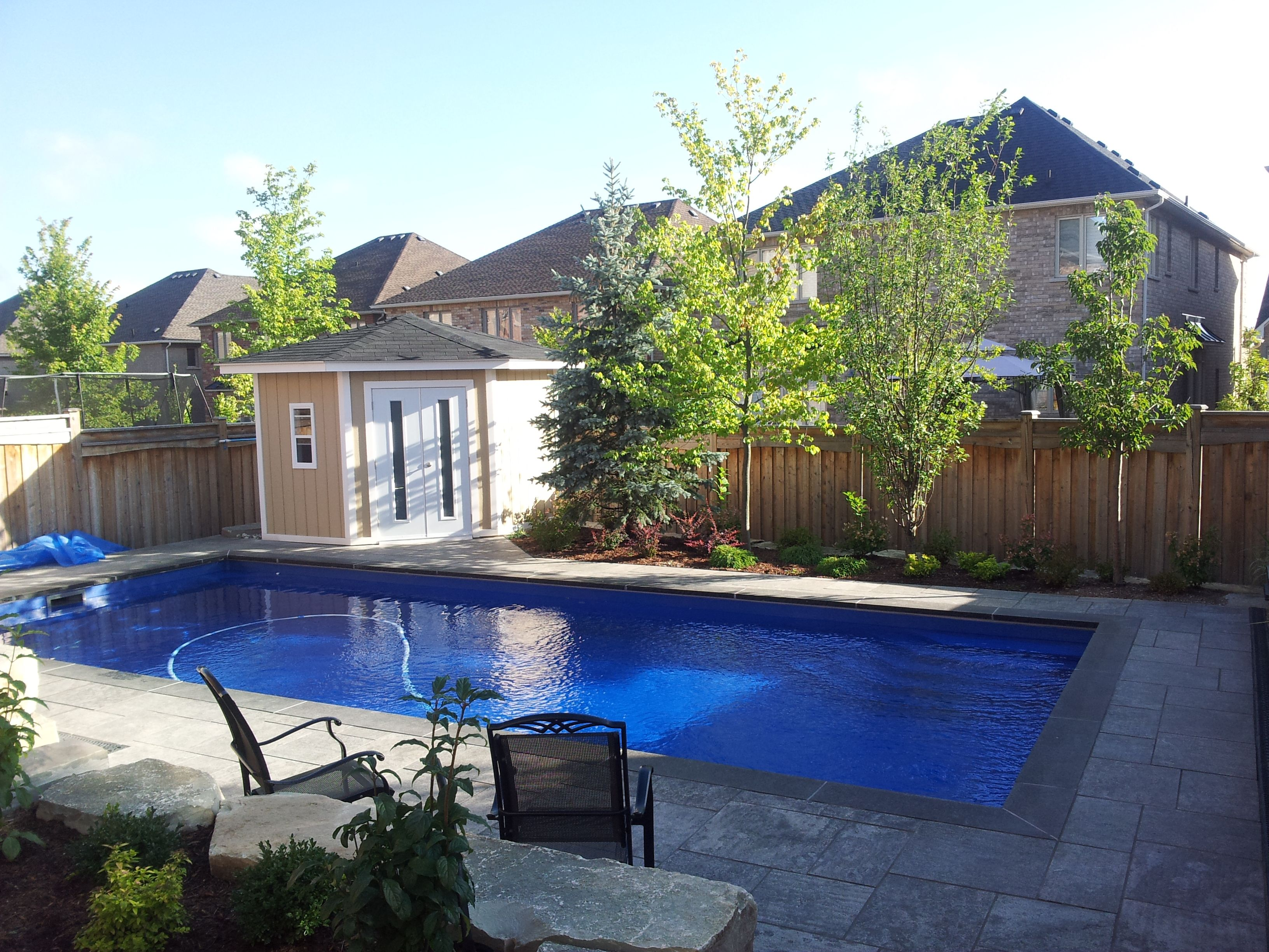 Pools 4 Ever Rectangle Pool Fiberglass Swimming Pools Pool Builders