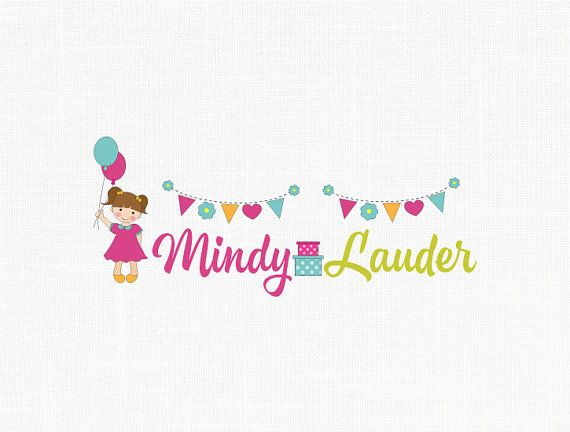 Custom Children Party Logo