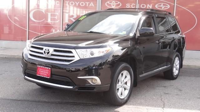 2011 Toyota Highlander, 38,765 miles, $26,988.