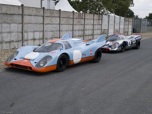 Porsche 917 - Gulf and Martini