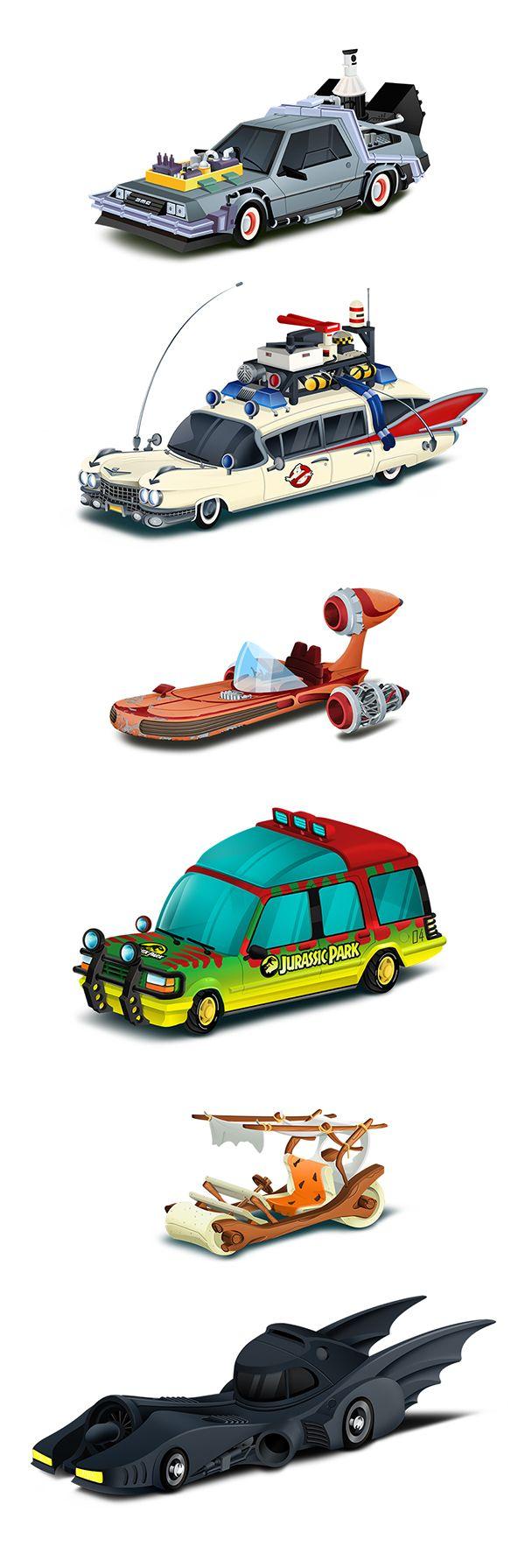 Les véhicules phares de notre enfance par Paul Turcanu