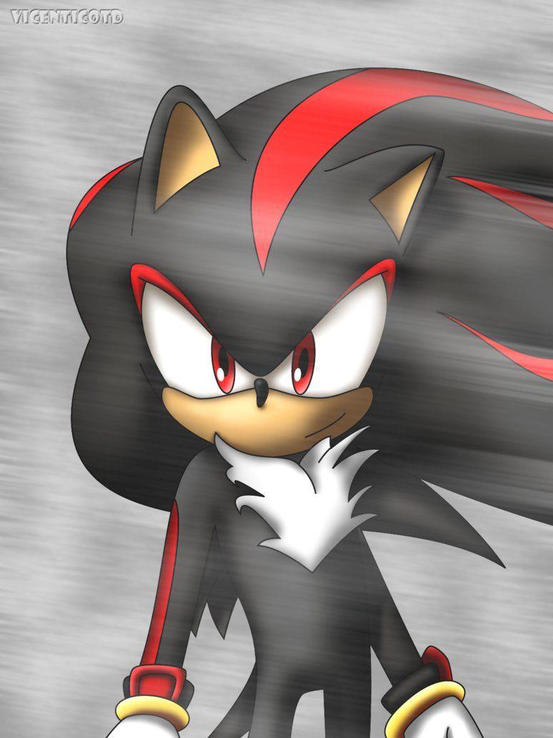 Dark Shadow the Hedgehog | Happy Shadow the Hedgehog by ~vicenticoTD on deviantART