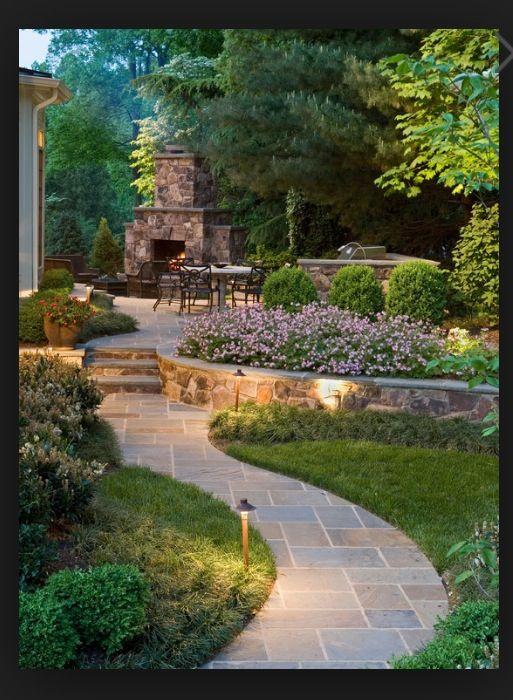 Amazing backyard entertaining area! #PinMyDreamBackyard