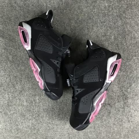 f8486db670b67b cheap Air Jordan 6 Low GG Sun Blush AAA Unisex shoes  black and  pink  whatsapp 13328373859