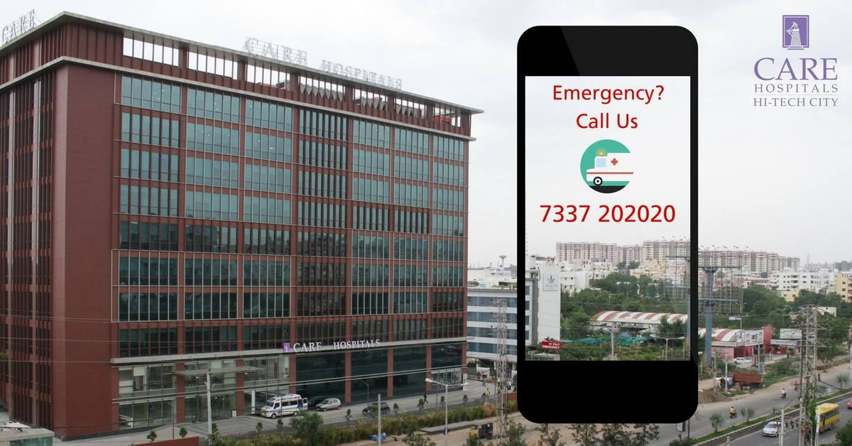 CARE Hospitals has now extended to Hitech city to cater
