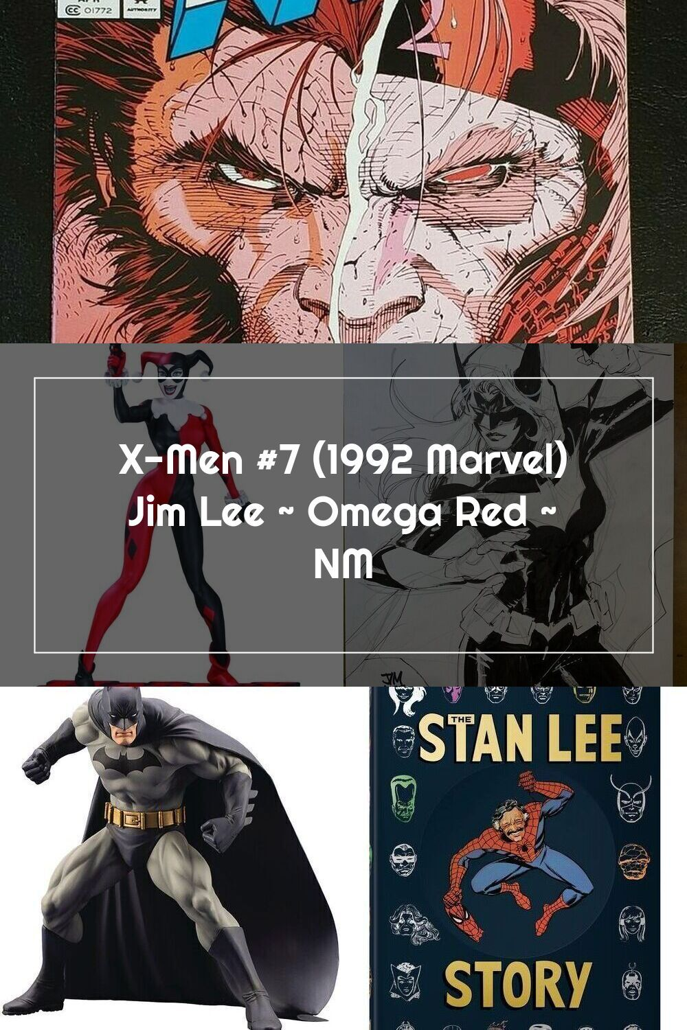 X Men 7 1992 Marvel Jim Lee Omega Red Nm In 2020 Jim Lee Marvel Omega Red