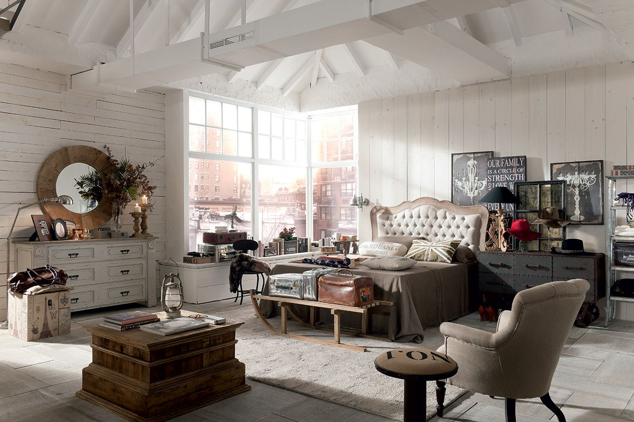 Country Vintage Industrial Loft Urban Shabby Chic Decor Dialma Brown Arredamento Idea Di Decorazione Interni Casa