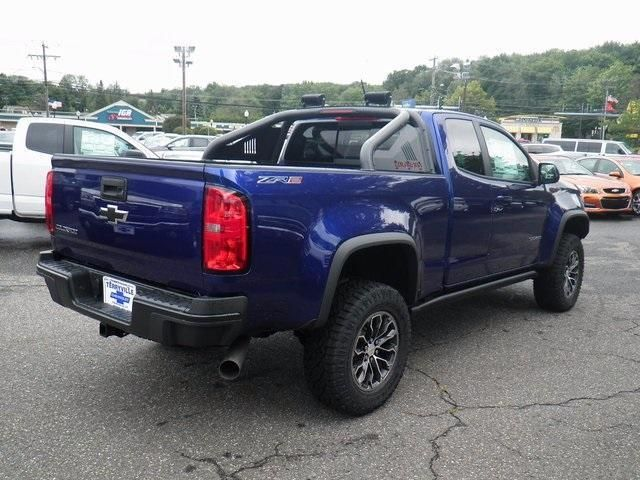 New Laser Blue Metallic 2017 Chevrolet Colorado Extended Cab Long