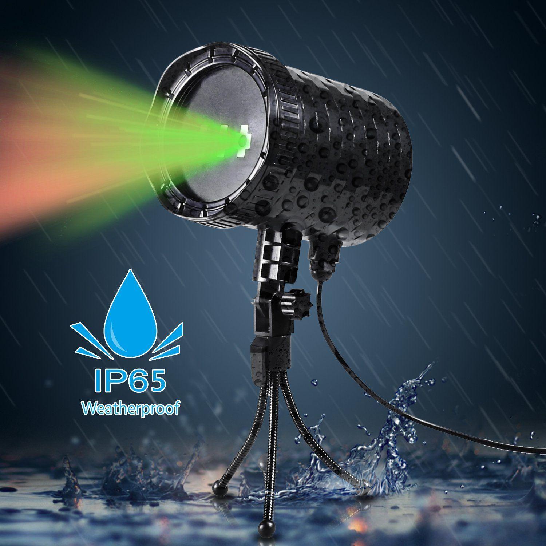 Amazon Com Coowoo Timer Control Laser Christmas Light Ip65 Waterproof Laser Christmas Lights Star Laser Laser Show