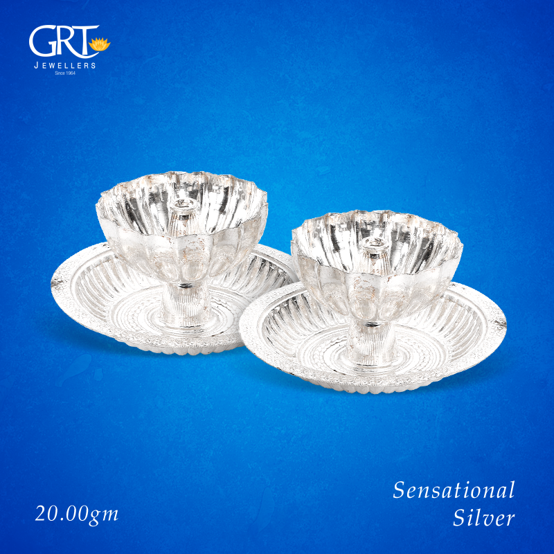 Browse through an expertly curated collection of silver lamps from grt