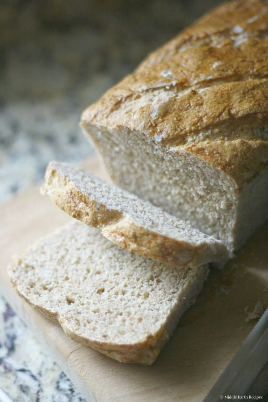 Buttermilk Wheat Bread. A no-knead, tangy bread for even the most beginning of bakers.