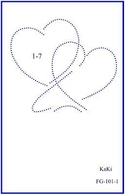 Kaki S Fadengrafiken Herzen Fadengrafik Fadengrafik Vorlagen Sticken Auf Papier