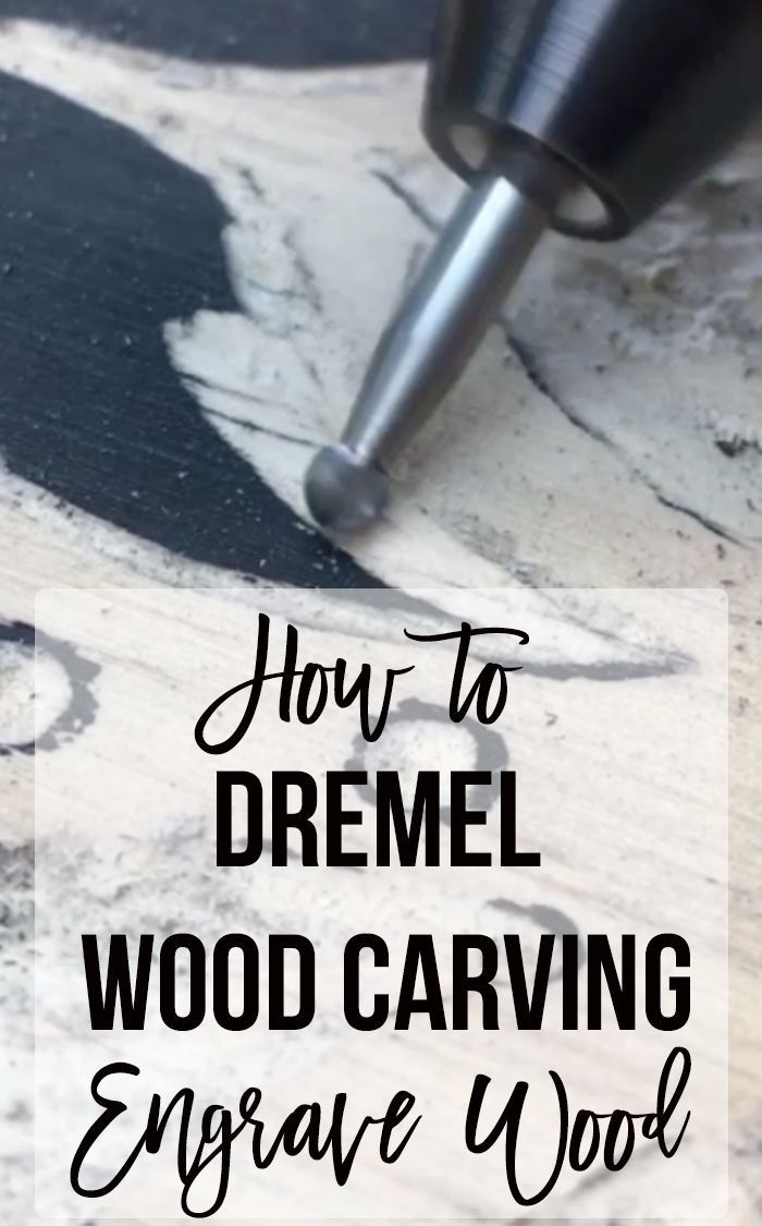 Dremel Wood Carving - How to Make a Gorgeous Manda