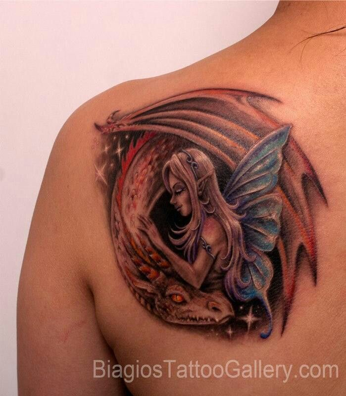 Nice tat for my left arm but I don't like the colors that much and I don't like pointed ears but this is a great idea