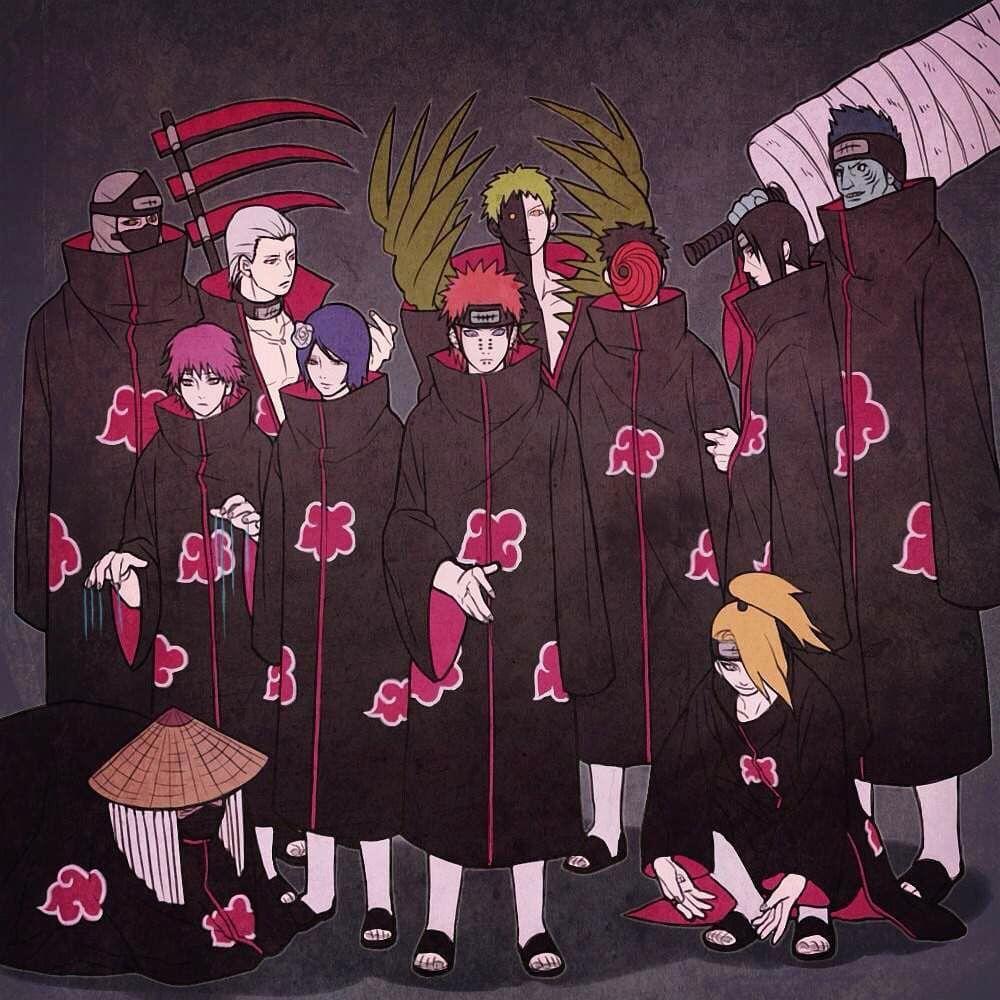 Naruto おしゃれまとめの人気アイデア Pinterest Bray Medrano ナルト イラスト 六道 ナルト 暁