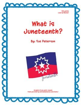 Our latest FREE sample download- What is Juneteenth?