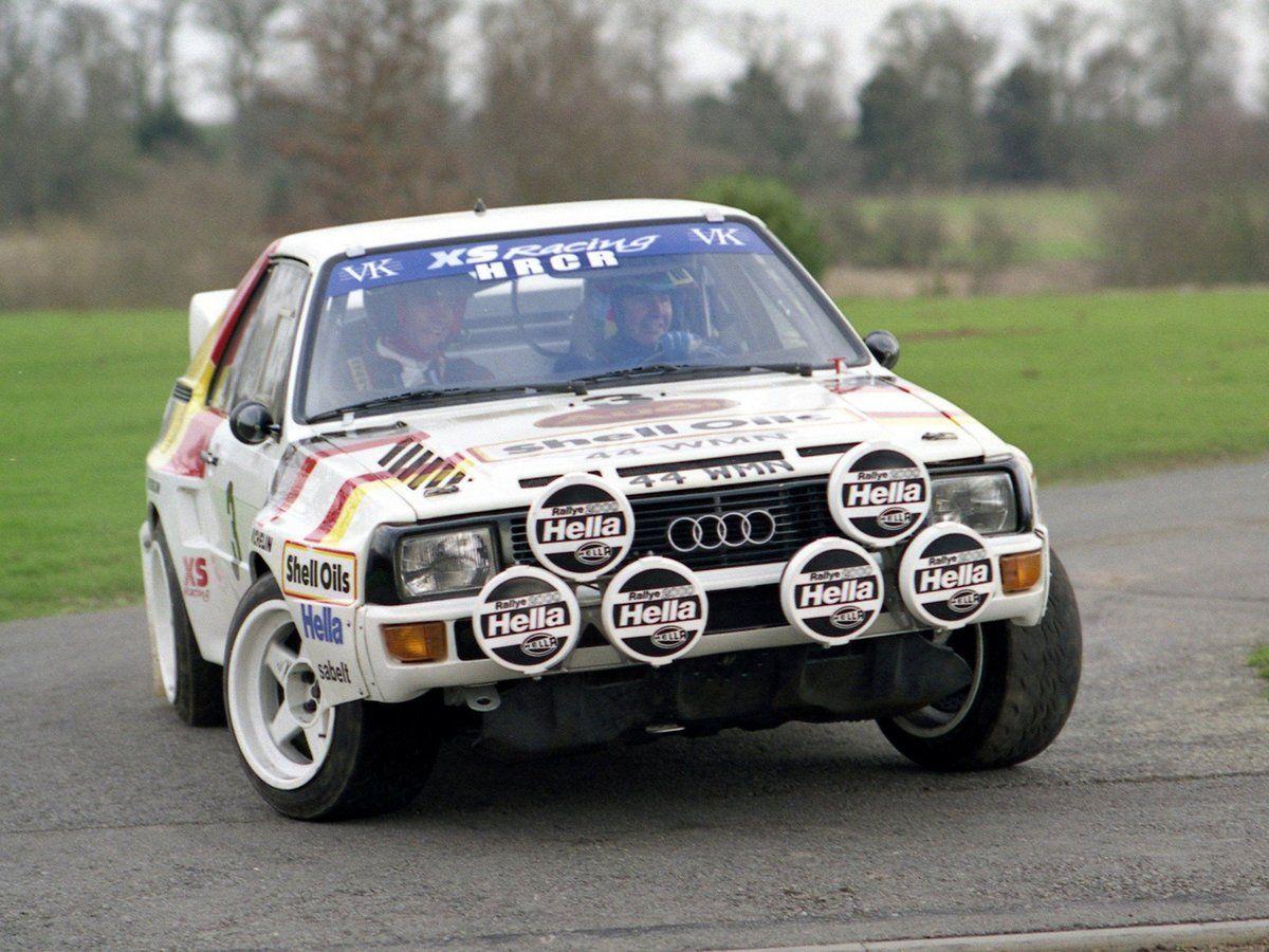 Audi Sport Quattro Group B Rally Car