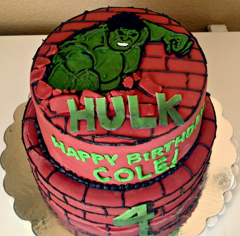 hulk cake Google Search bday parties Pinterest Hulk cakes