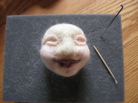 #Needle Felting Kit   Needle felting is an exciting new felting method which does not use water and can be used to create landscapes, wool application onto wool or felt, 3 D soft sculpture of figures, felted beads,- the possibilities are endless