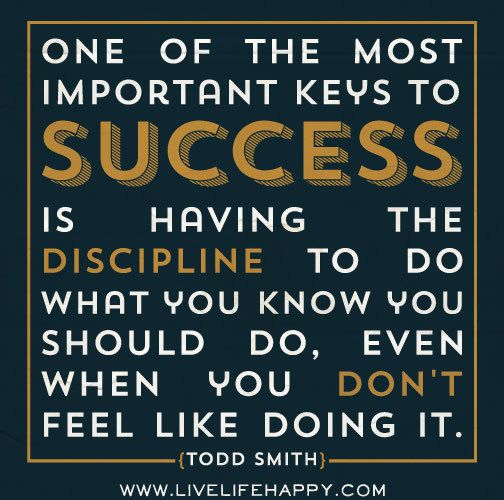 The Most Important Key Inspirational Quote Success Poster Motivation Picture