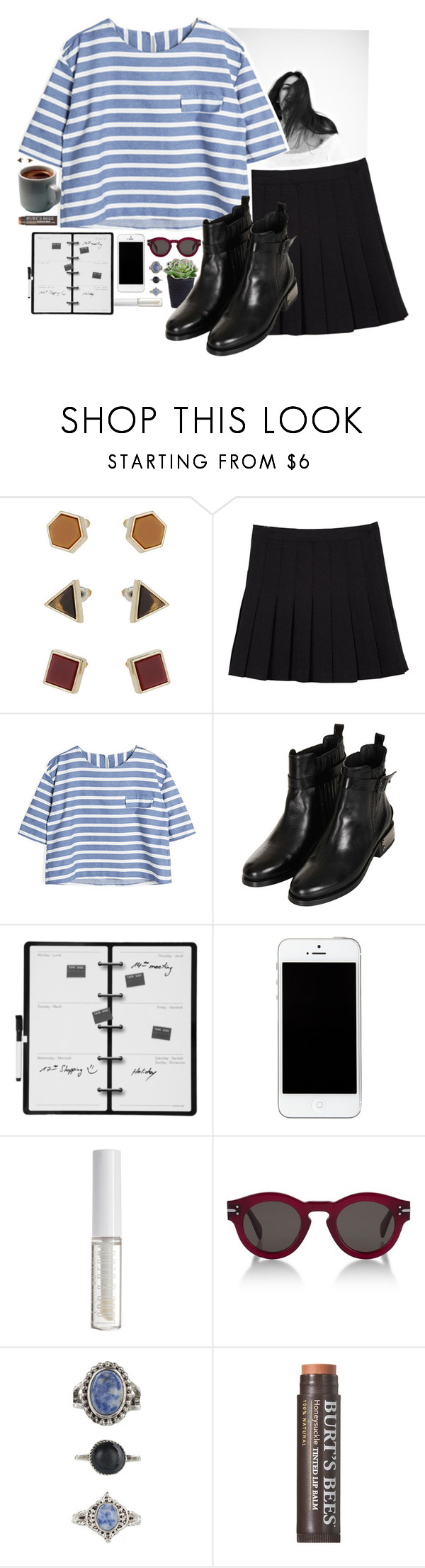 """Life is only a series of events"" by redblossem ❤ liked on Polyvore featuring Topshop, Kikkerland, Lord & Berry, CÉLINE, Lovisa, Burt's Bees, women's clothing, women's fashion, women and female"